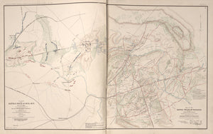 "American Civil War Map: ""Battle fields of Bull Run and Manassas, Virginia"" Digital Download"