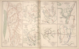"American Civil War Map: ""Vicksburg, Jackson, Big Black River Bridge, Mississippi"" Digital Download"