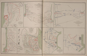 "American Civil War Map: ""Operations between Tennesse & Cumberland, Fort Henry and Fort Donelson, Tennessee"" Digital Download"