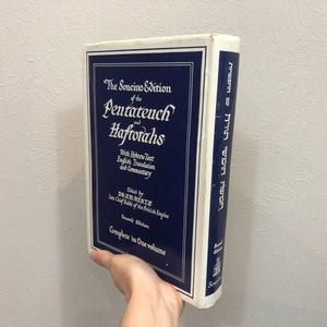 The Soncino Edition of the Pentateuch of Haftorahs Book