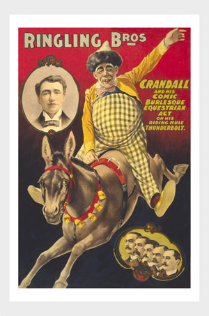 Ringling Brothers Crandall The Clown Digital Download