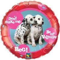 "18"" Be my Valentine ""Dalmation"""
