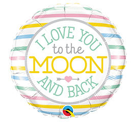 "18"" I love you to the Moon and Back"