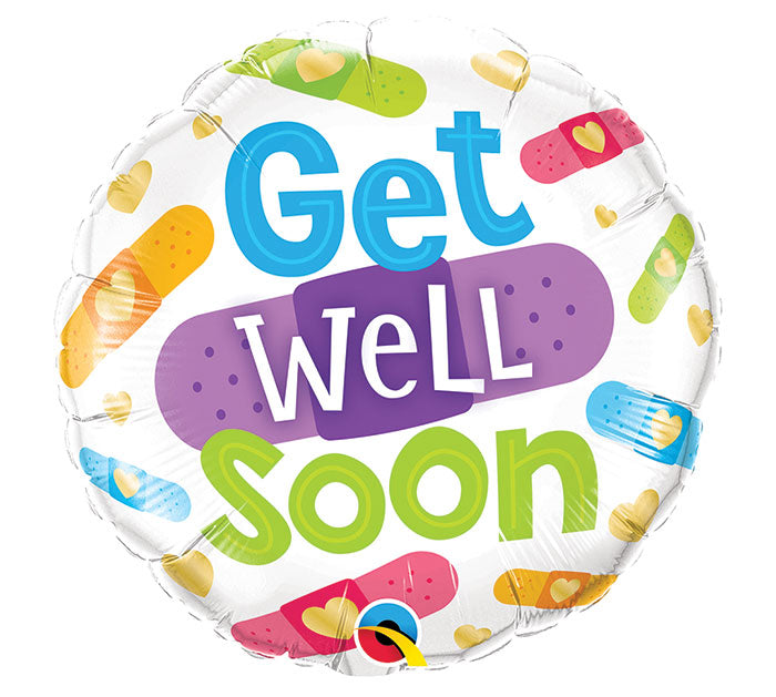 "18"" Get Well Soon Bandages"