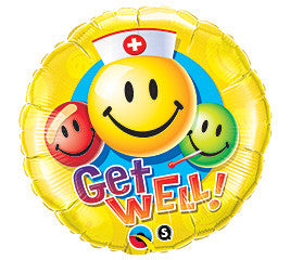 "18"" Get Well Smiley"