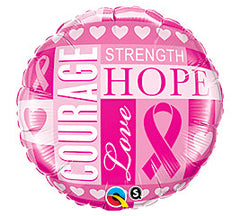 "18"" Breast Cancer Hope"