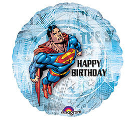 "18"" Happy Birthday Superman"