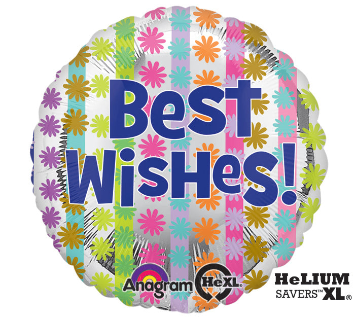 "18"" Bright Best Wishes"