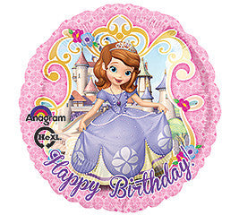 "18"" Happy Birthday Sofia the First"