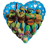 "18"" Valentine's Teenage Mutant Ninja Turtles"