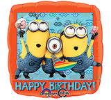 "18"" Happy Birthday Minions"