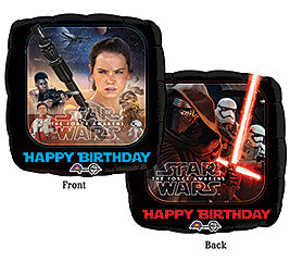 "18"" Happy Birthday Star Wars Force Awakens"