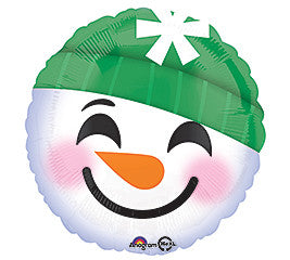 "18"" Snowman Emoticon"