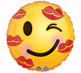 "18"" Luv Kiss Emoticon"
