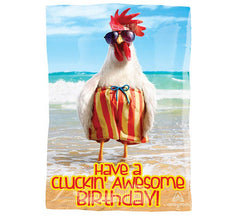 "17"" Cluckin' Awesome Birthday"