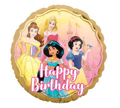 "17"" Happy Birthday Disney Princess"