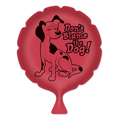 Whoopee Cushion Don't Blame The Dog