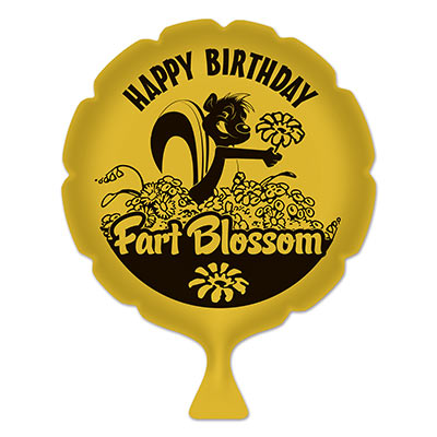 Whoopee Cushion Birthday Fart Blossom