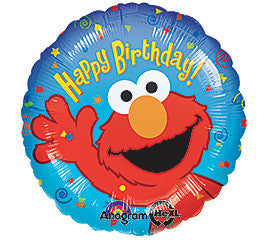 "18"" Happy Birthday Elmo"