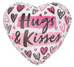 "17"" Hugs & Kisses (Hearts)"