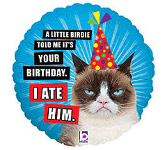 "18"" Grumpy Cat Birthday"