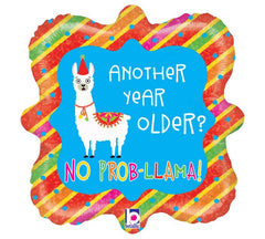 "18"" Another Year Older? No Prob-llama!"