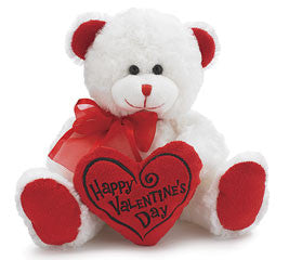Plush Valentine's Day Bear