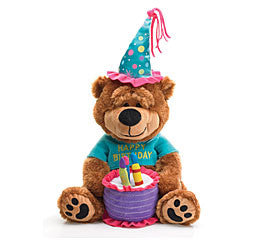 Happy Birthday Musical Bear