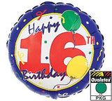 "18"" Happy 16th Birthday"