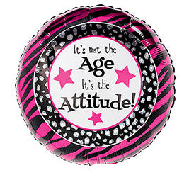 "18"" It's not the Age, It's the Attitude!"