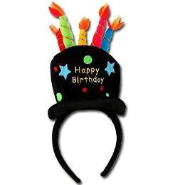 Birthday Cake Headband
