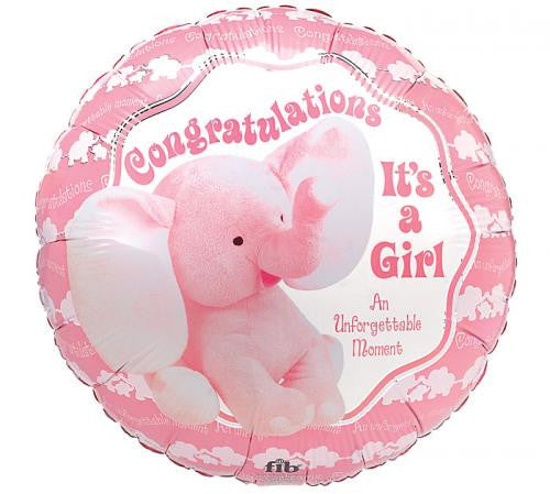 "18"" Congratulations It's a Girl!"