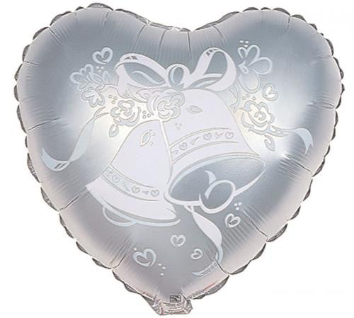 "18"" Wedding Bells Heart"