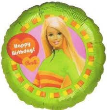 "18"" Happy Birthday Barbie (Green)"