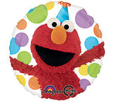 "18"" Happy Birthday Sesame Street Elmo"