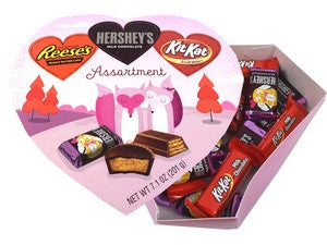 Hershey's Valentine's Day Assorted Heart Box