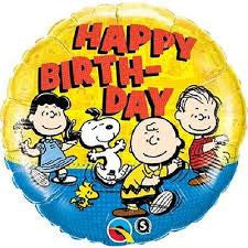 "18"" Happy Birthday Peanuts"