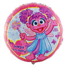"18"" Happy Birthday Abby Cadabby"