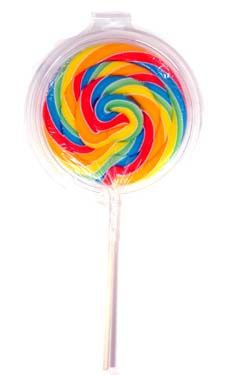 Jumbo Lollipop (Cherry)