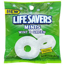 Life Saver Winter o green
