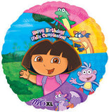 "18"" Happy Birthday Dora the Explorer"