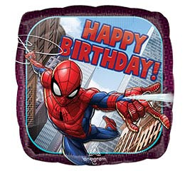 "18"" Happy Birthday Spiderman"