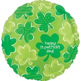 "18"" St. Patrick's Day Shamrocks"