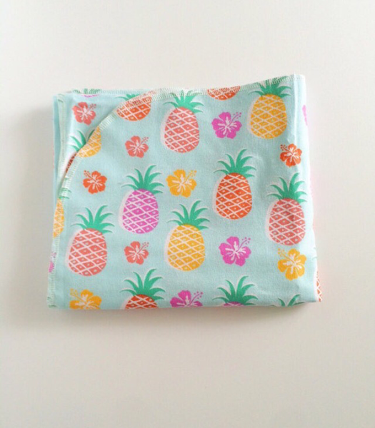 Rainbow Pineapple Swaddle