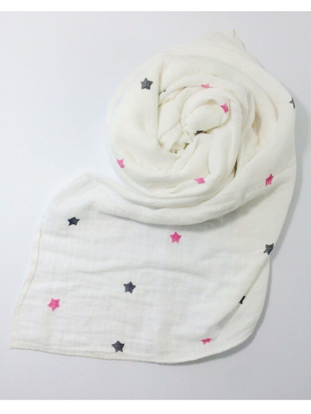 Pink Starry Skies Swaddle