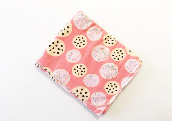 Cookie Shop Flannel Swaddle