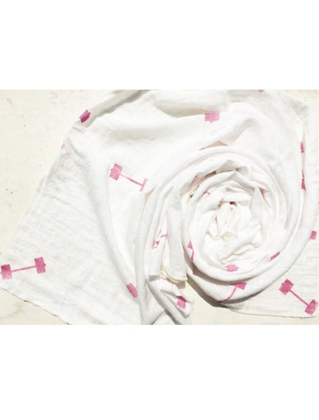Registry Limited Edition Pink Weights Swaddle