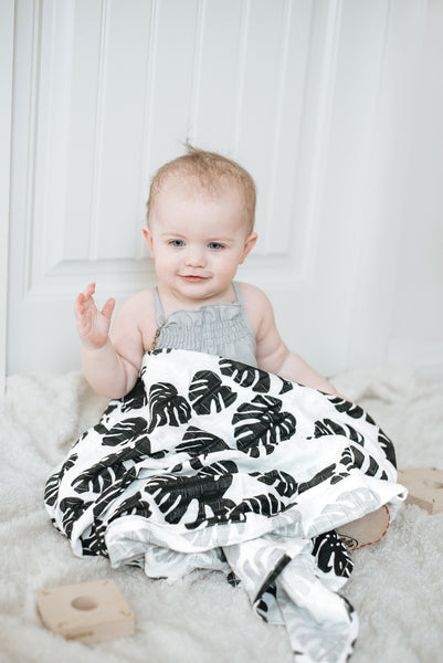 The Tropical Paradise Muslin Swaddle