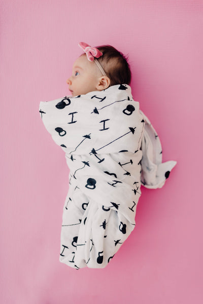Fit Baby Muslin Swaddle