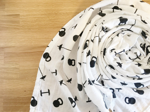 Registry Fit Baby Muslin Swaddle